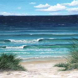GRASSY BEACH PATH