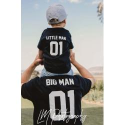 Big Man …Little Man Matching T Shirt Set