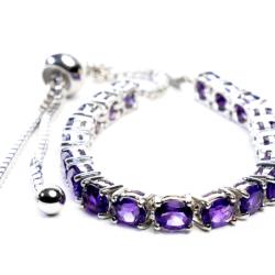 Amethyst Friendship Bracelet