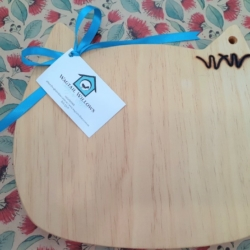 Wooden Chopping Board – Cat