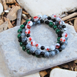 Multi Coloured Wrap Bracelet