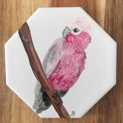 Galah Ceramic Tile Coaster
