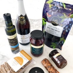 Grazing Board with Wine Hamper (All foods are Vegan & Gluten Free – not wine) free shipping
