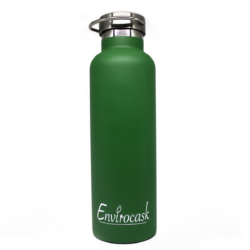 Envirocask – Double Wall Vacuum Insulated Bottle (750ml) – Green