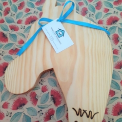 Wooden Chopping Board – Horse