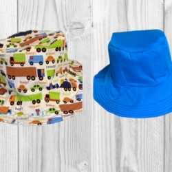 HANDMADE REVERSIBLE BUCKET HAT – ' TRUCKS '