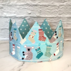 Christmas Crown – Koalas and Stockings