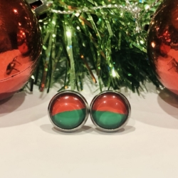 Christmas 10mm Stainless Steel Studs!