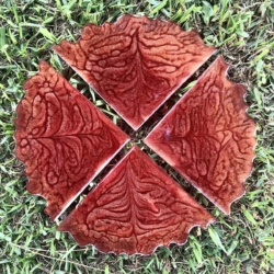 Nature Inspired: Agate Coaster Set Of 4