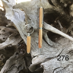 276 Camphor Laurel Pen & Key Ring (Free Australia wide post)