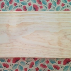 Wooden Party Plank with Handles