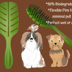 BIO-FLEX Detangling Pet Brush