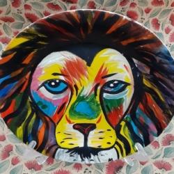 Hand Painted Porcelain Plate – Proud