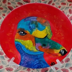 Hand Painted Porcelain Plate – Quackers
