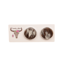 Cowhide Studs – 18mm & 20mm