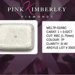 Australian Pink Argyle Diamond