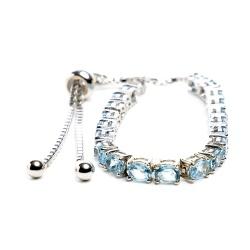 Blue Topaz Friendship Bracelet