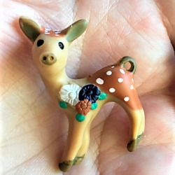 Cute Fawn / Baby Deer Brooches / Pins / Embellishments