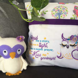 Reading Pillow and Pocket Pal Owl