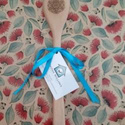 Wooden Spoon – Laser Engraved – Mandala