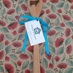 Wooden Spoon – Laser Engraved – Moo