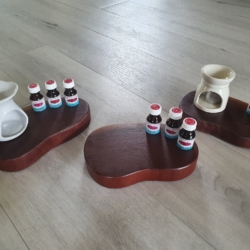 Red Cedar Timber Display for Oil Burner and Essential Oils