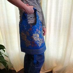 Foldable Reusable Cotton Shopping Bags (Free Shipping)