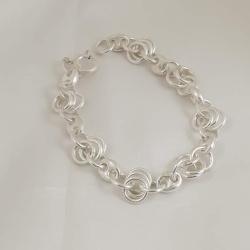 Sterling Silver Ring Bracelet