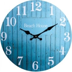 Clock Aqua Beachhouse