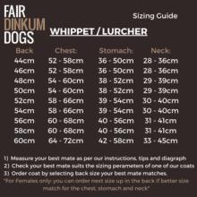 Fair Dinkum Dogs Whippet / Lurcher coats