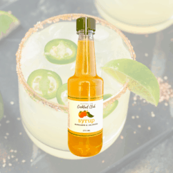 Mandarin & Jalapeno Cocktail Syrup 375mL
