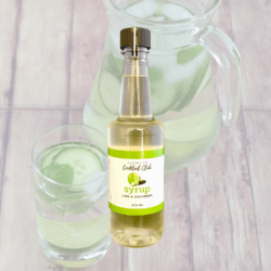 Lime & Cucumber Cocktail Syrup 375mL