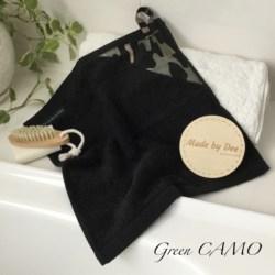 MINI HAND TOWEL | Green Camo