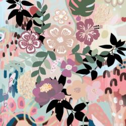 A3 300gsm Garden unframed Print by Mahlah