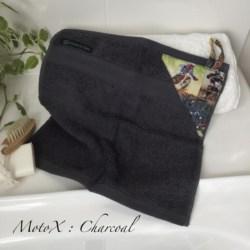 MINI HAND TOWEL | MotoX Charcoal