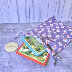 DRAWSTRING BAG | Polly Penguin
