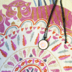 Indian scarf with matching necklace set – FREE POSTAGE – 14 other designs available in our store.