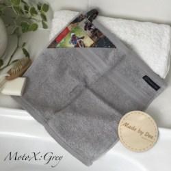 MINI HAND TOWEL | MotoX Grey