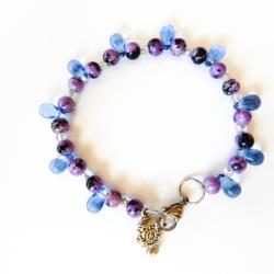Purple & Blue Bracelet