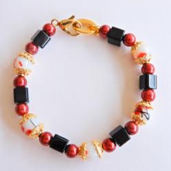 Red & Gold Bracelet