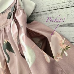 WRAP SKIRT | Ballet Swans. | SIZES 3 , 10