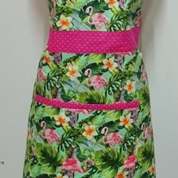 Flamingo Kitchen Apron