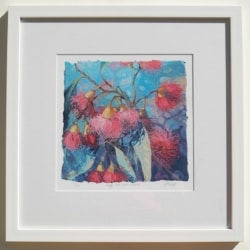 Pretty Pink Gum Flowers Limited Edition Print