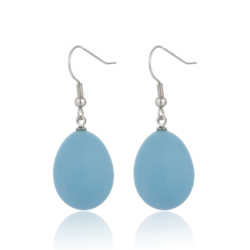 Tear Drop Fashion Dangle Earrings Jewellery E350164 – Blue