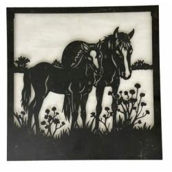 Metal Wall Art Horses