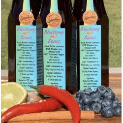 Blueberry Hot Sauce Value Pack 3 bottles