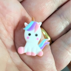 Cute Small Unicorn Brooches / Pins / Embellishments