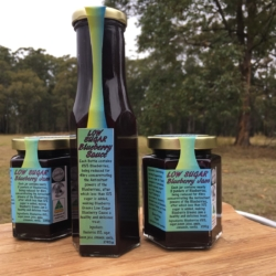 Low Sugar Blueberry Sauce & Jam Value Pack (1 Jam & 2 Sauce)