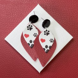 Puppy Love statement stud earrings – FREE POSTAGE