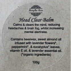 Head Clear Balms